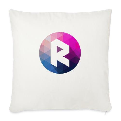 radiant logo - Sofa pillowcase 17,3'' x 17,3'' (45 x 45 cm)