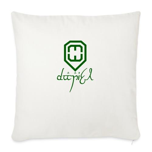 Cup logo Dan - Sofa pillowcase 17,3'' x 17,3'' (45 x 45 cm)