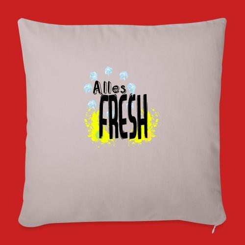 Alles Fresh / Frisch Sommer Eis - Sofakissenbezug 44 x 44 cm