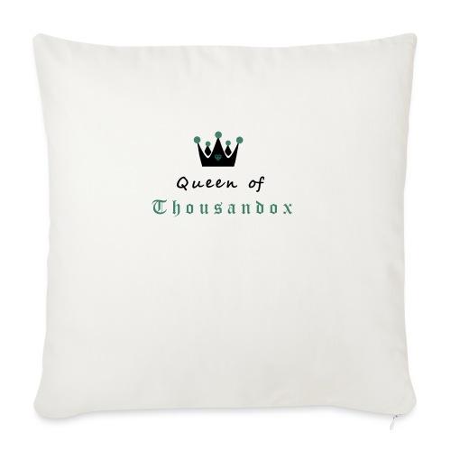 Queenofthousandox - Sofakissenbezug 44 x 44 cm