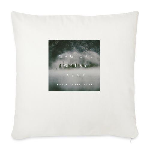 MAGICAL GYPSY ARMY SPELL - Sofa pillowcase 17,3'' x 17,3'' (45 x 45 cm)