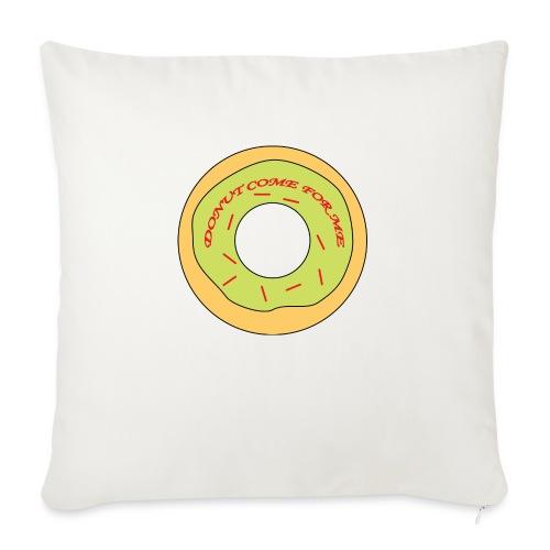 Donut Come For Me Red - Sofa pillowcase 17,3'' x 17,3'' (45 x 45 cm)
