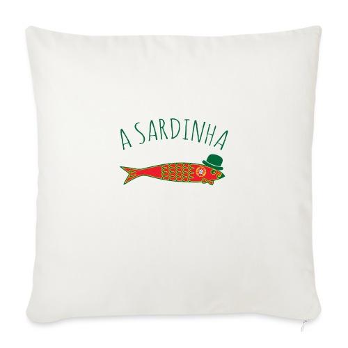 A Sardinha - Bandeira - Housse de coussin décorative 45x 45cm