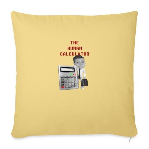 The Human Calculator - Soffkuddsöverdrag, 45 x 45 cm