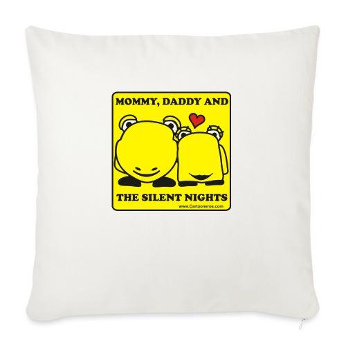 Silent Night - Sofa pillowcase 17,3'' x 17,3'' (45 x 45 cm)