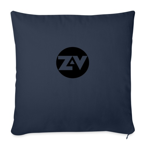 Zvooka Records Logo - Sofa pillowcase 17,3'' x 17,3'' (45 x 45 cm)
