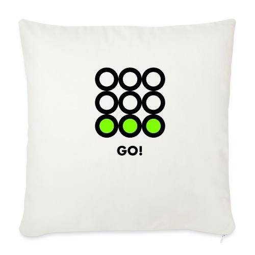 Go! Vedi anche i motivi Stop e Wait! - Copricuscino per divano, 45 x 45 cm