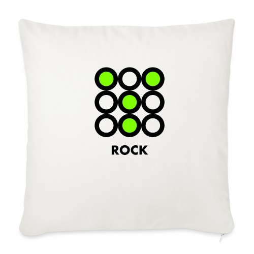 Rock - Copricuscino per divano, 45 x 45 cm