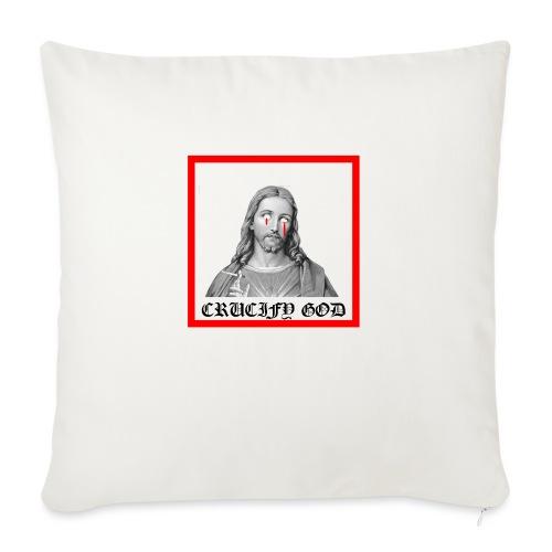 Crucify God | Sad Jesus - Sohvatyynyn päällinen 45 x 45 cm