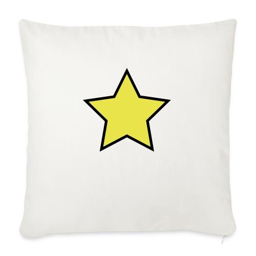 Star - Stjerne - Sofa pillowcase 17,3'' x 17,3'' (45 x 45 cm)
