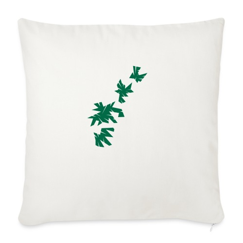 Green Leaves - Sofakissenbezug 44 x 44 cm