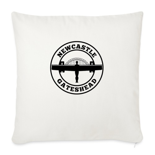 NEW BIGGER LOGO - Sofa pillowcase 17,3'' x 17,3'' (45 x 45 cm)