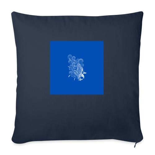 Windy Wings Blue - Sofa pillowcase 17,3'' x 17,3'' (45 x 45 cm)