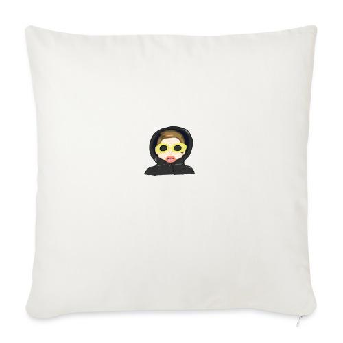 Portrait - Sofa pillowcase 17,3'' x 17,3'' (45 x 45 cm)