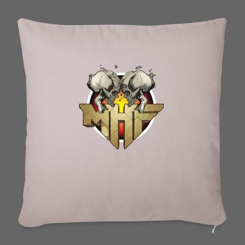 new mhf logo - Sofa pillowcase 17,3'' x 17,3'' (45 x 45 cm)