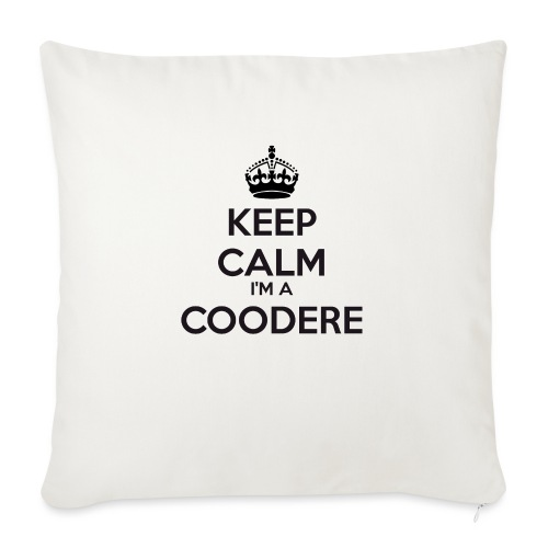 Coodere keep calm - Sofa pillowcase 17,3'' x 17,3'' (45 x 45 cm)
