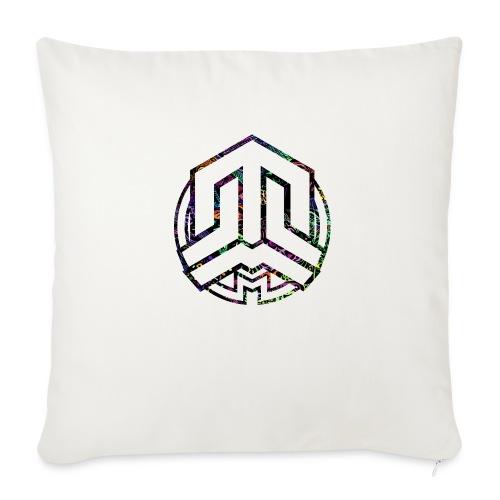 Cookie logo colors - Sofa pillowcase 17,3'' x 17,3'' (45 x 45 cm)