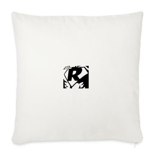 Black R2 - Sofa pillowcase 17,3'' x 17,3'' (45 x 45 cm)