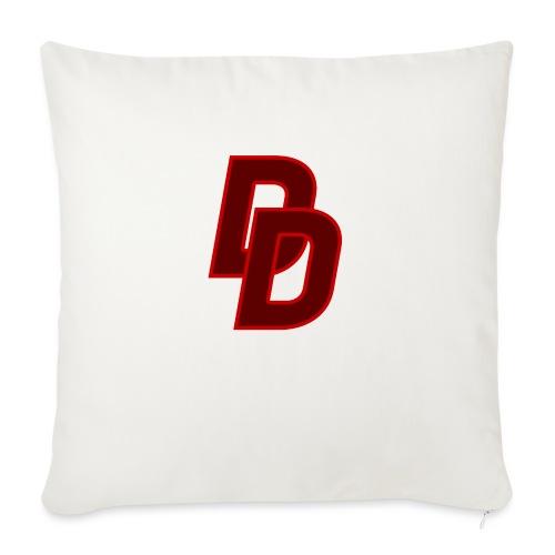 Daredevil Logo - Sofa pillowcase 17,3'' x 17,3'' (45 x 45 cm)