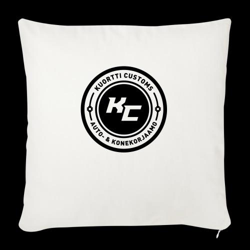 kc_tunnus_2vari - Sohvatyynyn päällinen 45 x 45 cm