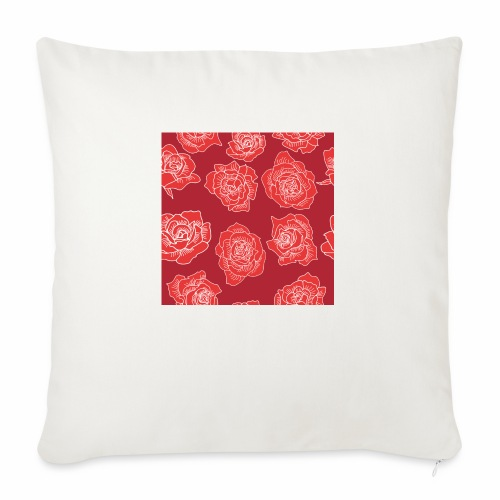 Róże - Poszewka na poduszkę 45 x 45 cm
