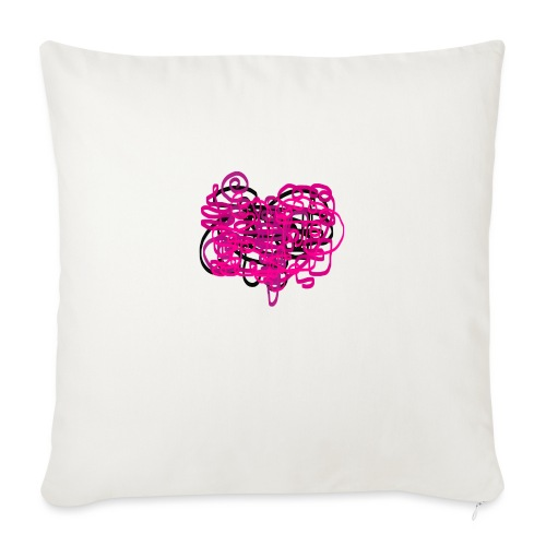 delicious pink - Sofa pillowcase 17,3'' x 17,3'' (45 x 45 cm)