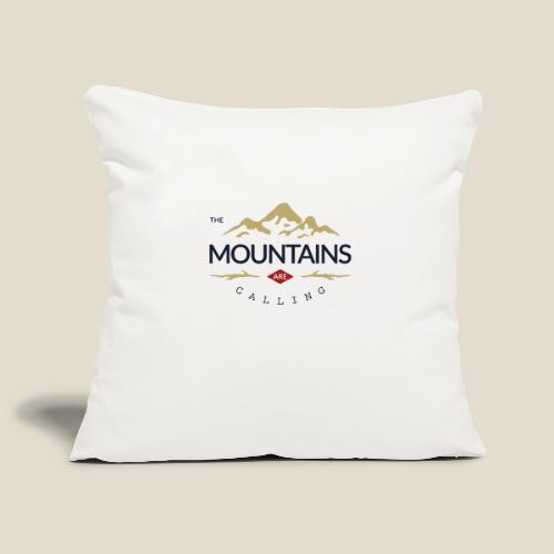 Outdoor mountain - Housse de coussin décorative 45x 45cm