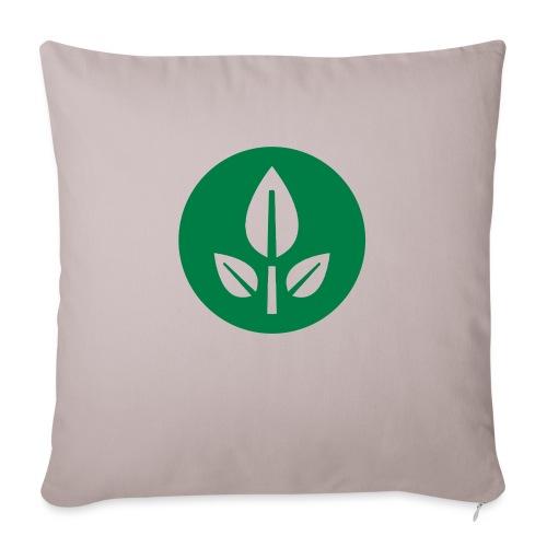 EVE Flower Plant Symbol - Sofa pillowcase 17,3'' x 17,3'' (45 x 45 cm)