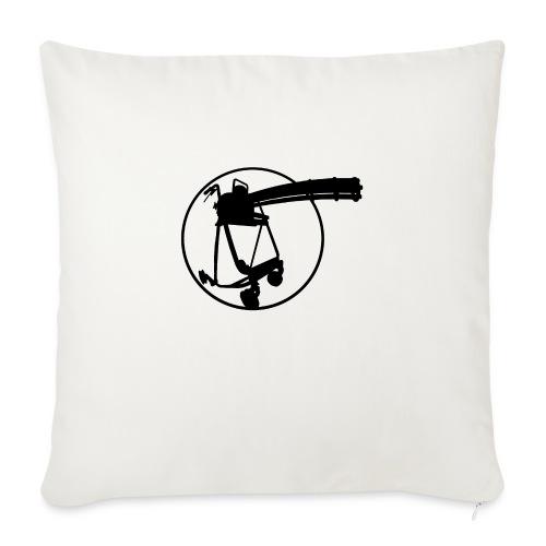 walkerminigun - Sofa pillowcase 17,3'' x 17,3'' (45 x 45 cm)