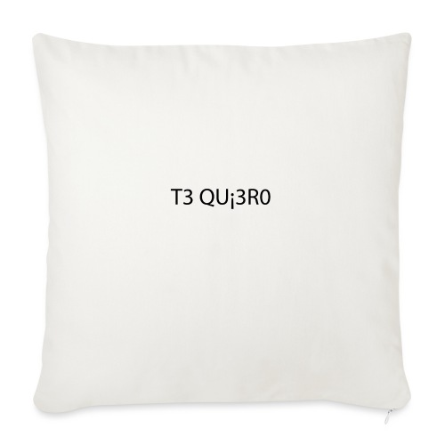 Te Quiero - Housse de coussin décorative 45x 45cm