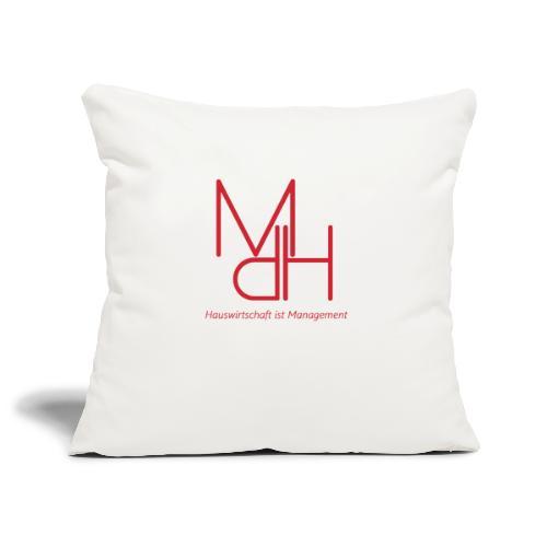 MdH - Hauswirtschaft ist Management - Sofakissenbezug 44 x 44 cm