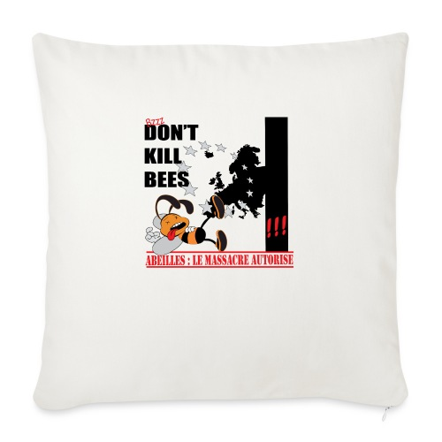 don't kill bees - Housse de coussin décorative 45x 45cm