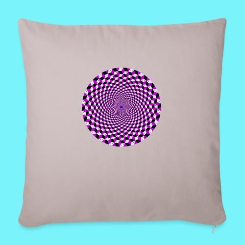 Mandala figure from rhombus shapes - Sofa pillowcase 17,3'' x 17,3'' (45 x 45 cm)