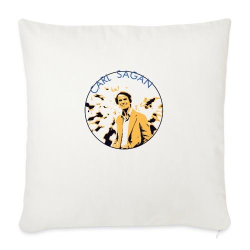 Vintage Carl Sagan - Sofa pillowcase 17,3'' x 17,3'' (45 x 45 cm)
