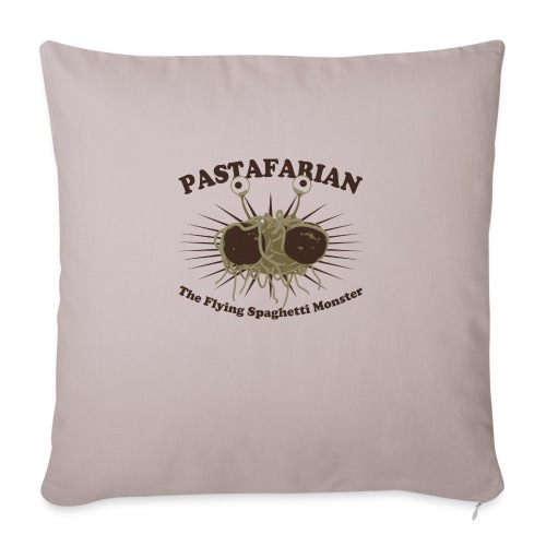 The Flying Spaghetti Monster - Sofa pillowcase 17,3'' x 17,3'' (45 x 45 cm)