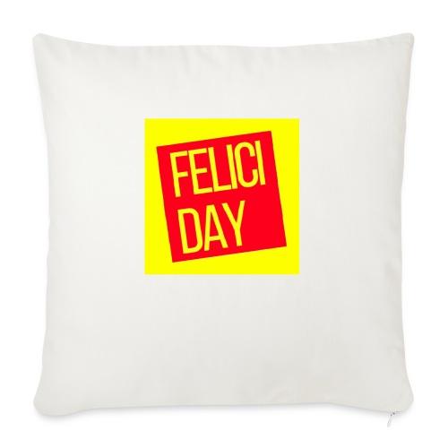Feliciday - Funda de cojín, 45 x 45 cm