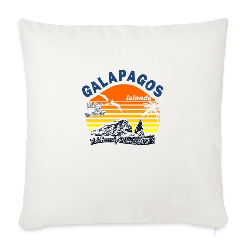 Galapagos Islands - Sofa pillowcase 17,3'' x 17,3'' (45 x 45 cm)