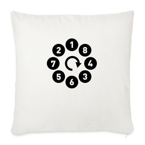 V8 firing - Autonaut.com - Sofa pillowcase 17,3'' x 17,3'' (45 x 45 cm)