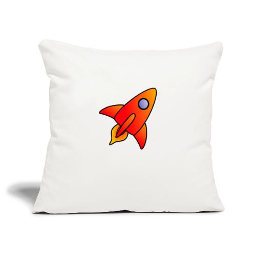 Red Rocket - Sofa pillowcase 17,3'' x 17,3'' (45 x 45 cm)