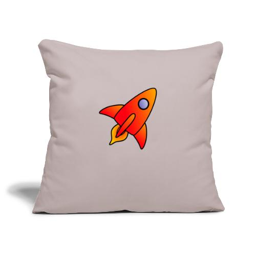 Red Rocket - Sofa pillowcase 17,3'' x 17,3'' (45 x 45 cm)