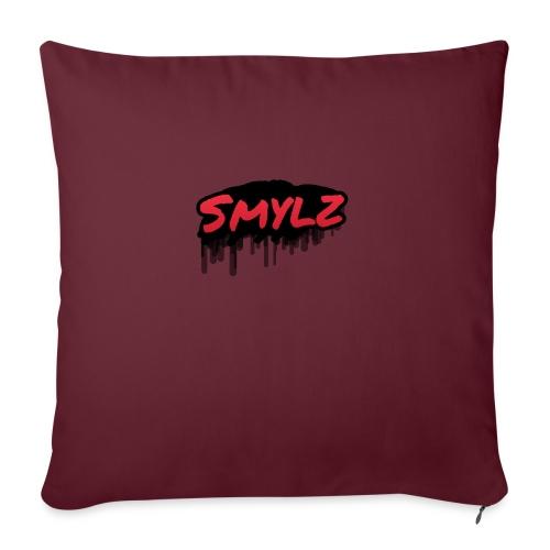 Smylz graffiti logo - Soffkuddsöverdrag, 45 x 45 cm