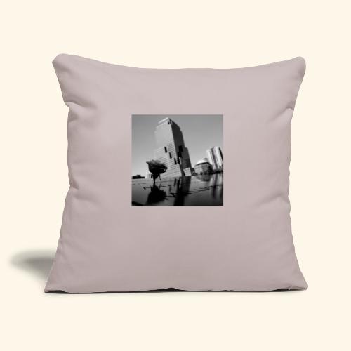 Rosa del ricordo - Copricuscino per divano, 45 x 45 cm