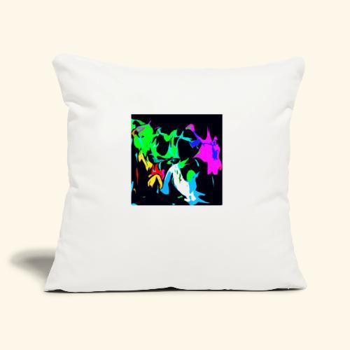 Ragnatele colorate - Copricuscino per divano, 45 x 45 cm