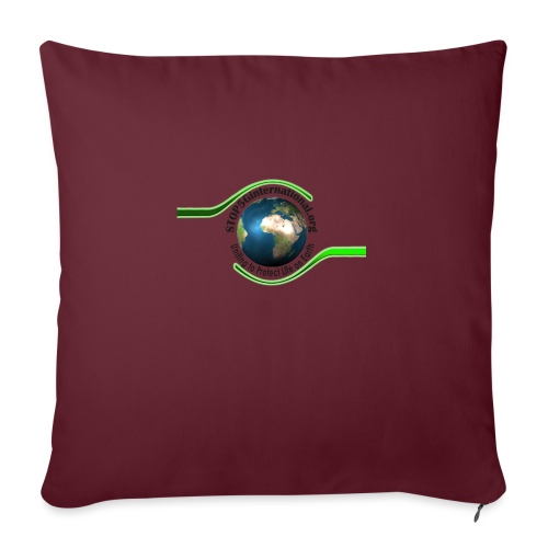 STOP5G - Sofa pillowcase 17,3'' x 17,3'' (45 x 45 cm)