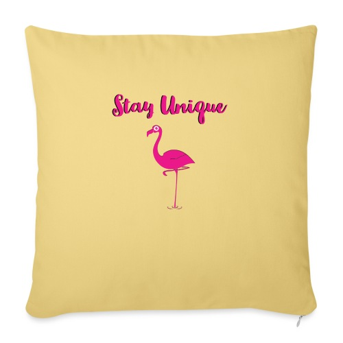 Stay Unique Flamingo - Sofakissenbezug 44 x 44 cm