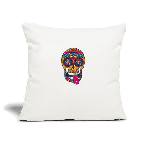 Mexican Skull - Copricuscino per divano, 45 x 45 cm