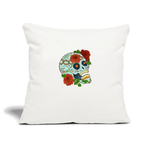 Mexican Skull 5 - Copricuscino per divano, 45 x 45 cm