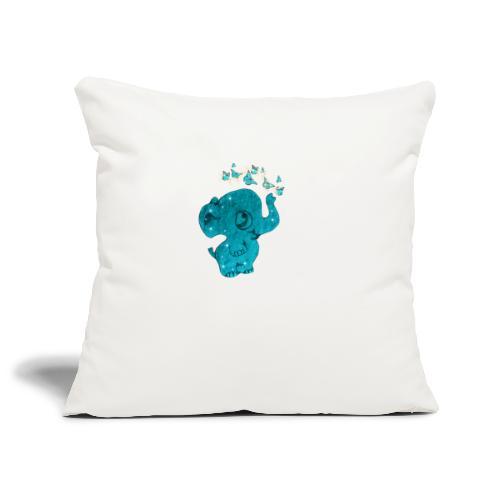 Elefante - Copricuscino per divano, 45 x 45 cm
