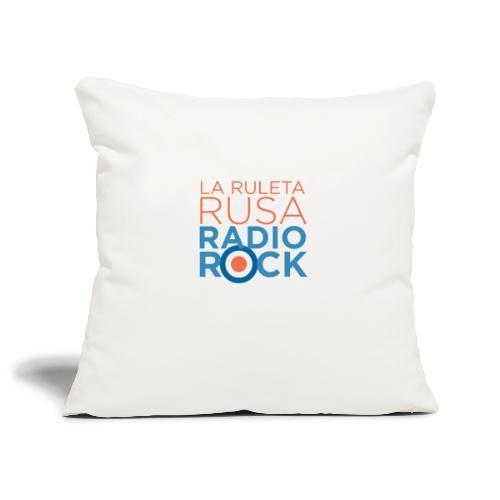 La Ruleta Rusa Radio Rock. Portrait Primary. - Funda de cojín, 45 x 45 cm