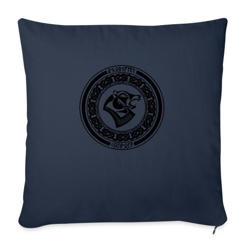 BjornfellRisingBlack - Sohvatyynyn päällinen 45 x 45 cm